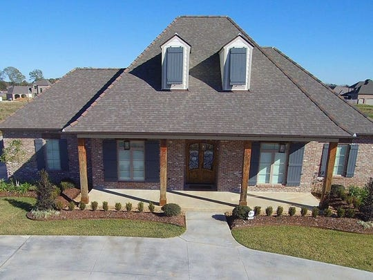 This 5 bedroom, 41/2 bath home, located at 107 Rio Ridge Drive in Lafayette, has 4419 square feet of living area and is listed at $1,069,000.