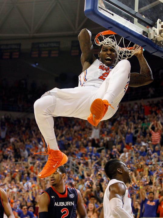 USP NCAA Basketball_ Auburn at Florida