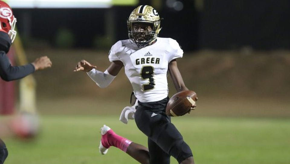 Greer traveled to face Union County as part of Week