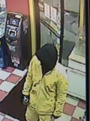 Shasta County sheriff's deputies believe this person walked into a Burney-area Shell station and lit a man on fire, killing him.