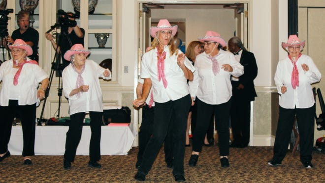 The Gangsta' Grannies performing at the 15th Annual Silver Stars Gala on Thursday, May 27, 2016.