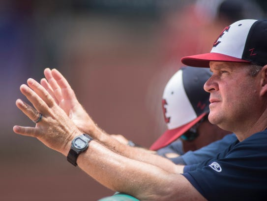 Andy McCauley has been the Otters' manager since 2010. He led the team to the 2016 Frontier League championship.