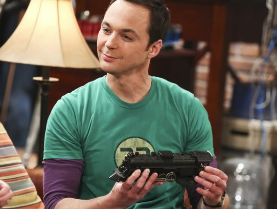 """Jim Parsons appears in a scene from """"The Big Bang Theory."""""""