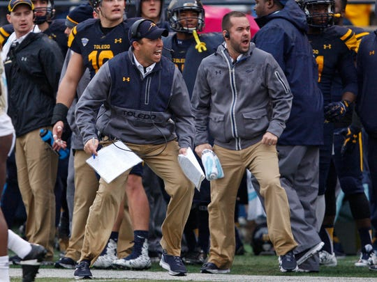 Toledo gets two huge tests late in the season, first against Northern Illinois (Nov. 9) then against Western Michigan (Nov. 25).