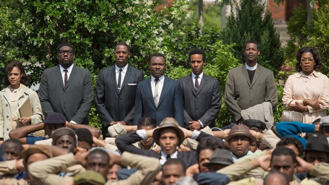 """""""Selma"""" tells the story of the protest march from Selma to Montgomery, Ala., to gain equal voting rights for black Americans in 1965."""