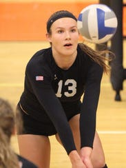 Brighton's Gabrielle Tschannen was sidelined for her