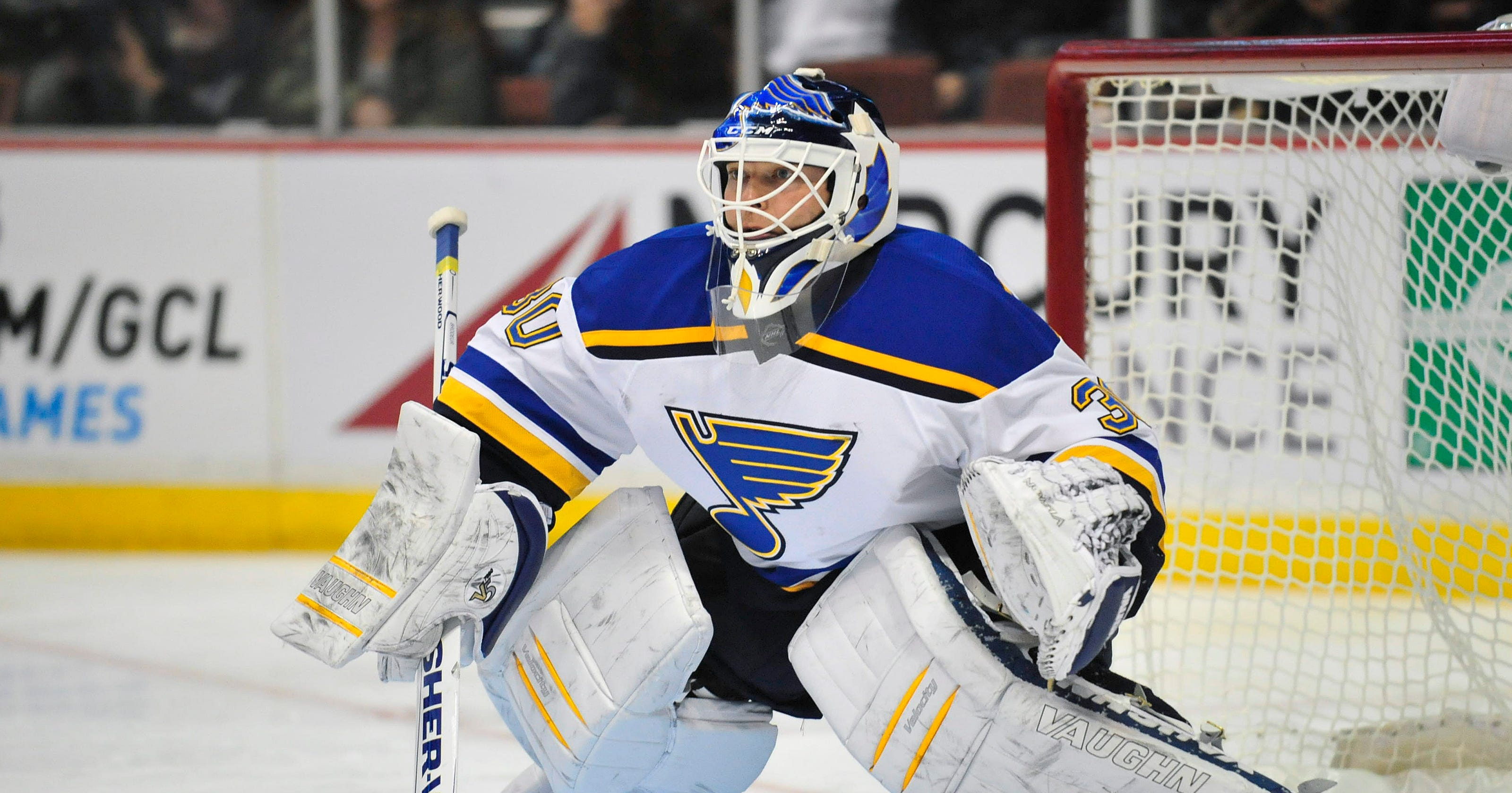Blues Give Martin Brodeur 1 Week Leave Of Absence