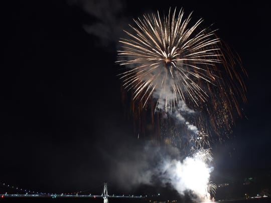 The 2016 City of Poughkeepsie Independence Day Fireworks Spectacular on Saturday July 2, 2016.