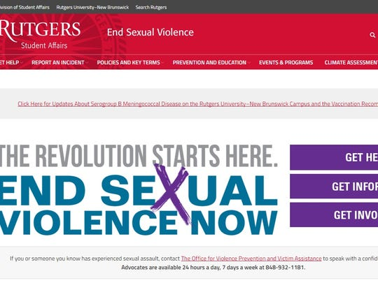 Among the initiatives launched at Rutgers University to address sexual violence is a Rutgers-produced public service announcement calling on the campus community to come together to end sexual violence; and the launch of a web site – www.endsexualviolence.rutgers.edu -- to provide a single location for information about all Rutgers resources related to sexual violence.
