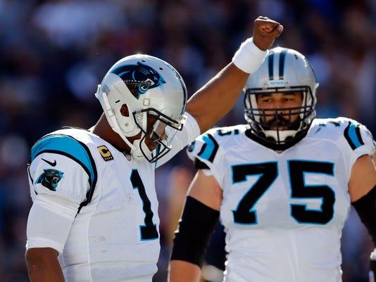 NFL: Carolina Panthers at New England Patriots
