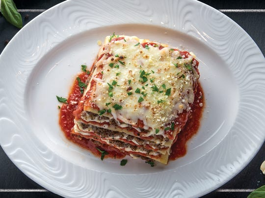 Lasagna is one of the items on the menu at Bella Italiana, which is approaching its one-year anniversary and will be making its first appearance at the Food & Wine Experience.