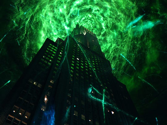 """The stage is set for action in """"Ghostbusters."""""""