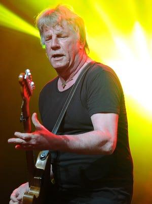 Rick Parfitt, seen in 2013, joined Status Quo in 1964.