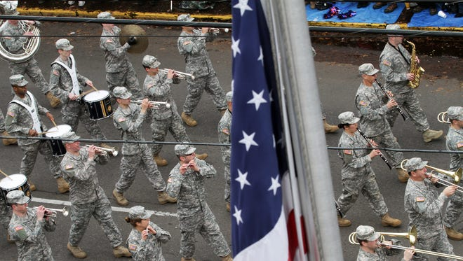 The Veterans Day Parade in Albany, which begins at 11 a.m. on Wednesday, Nov. 11, is billed as the largest parade of its kind west of the Mississippi River.