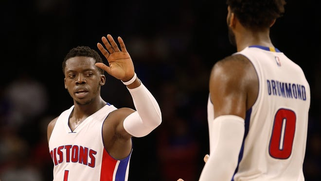 Reggie Jackson and Andre Drummond have guided the Pistons to a 22-19 record through 41 games, good for seventh place in the Eastern Conference.