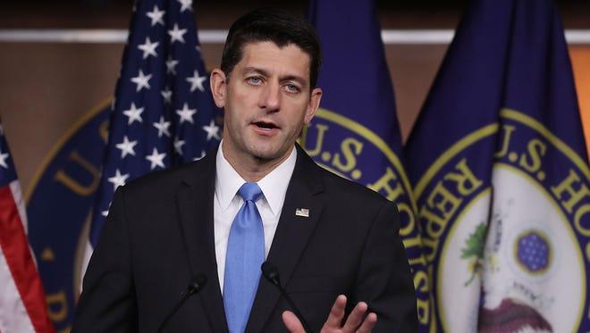 House Speaker Paul Ryan, R-Wis.