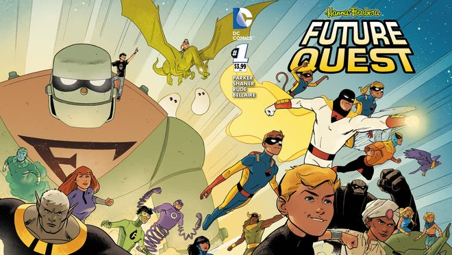 """""""Future Quest"""" features a huge team-up of Hanna-Barbera characters."""