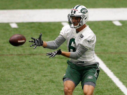 Jets rookie wide receiver Chad Hansen is one of the