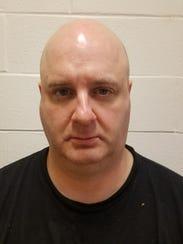 Barnaby Hewson, 42, of Pennsauken is accused of possessing