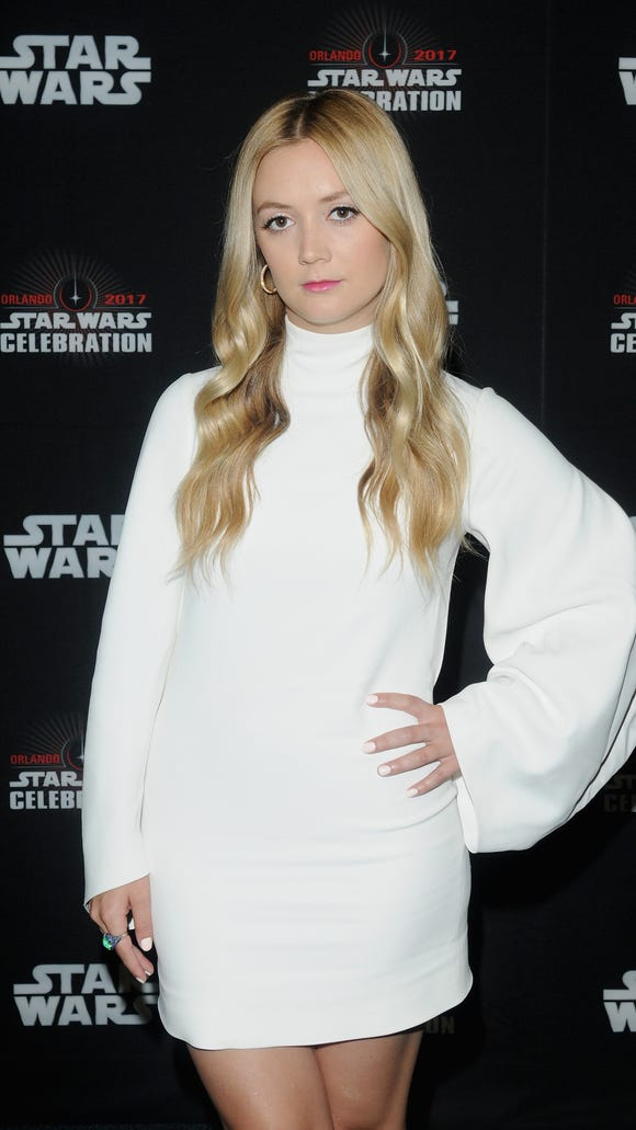 Billie Lourd turned 25 Monday.