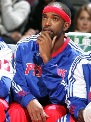 Detroit Pistons guard Richard Hamilton in 2011.
