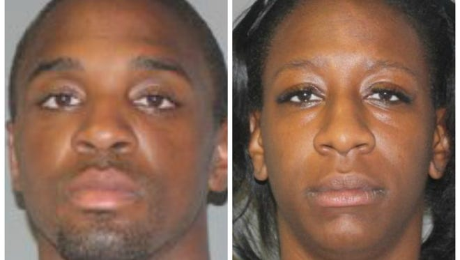 Brennen Jackson and Kiarra Sharday Pennymon pleaded guilty to charges in connection to two Lansing bank robberies last year.