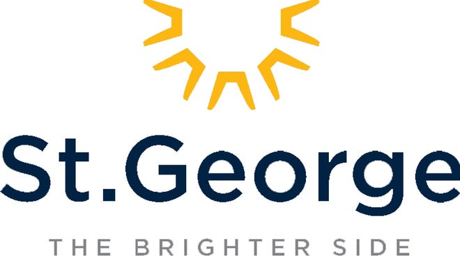 The city of St. George will begin phasing in its new logo throughout the course of two years.