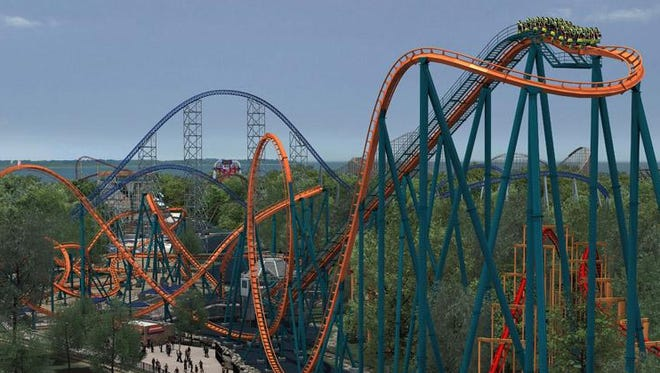 Rougarou, Cedar Point's new floorless coaster, debuting spring of 2015