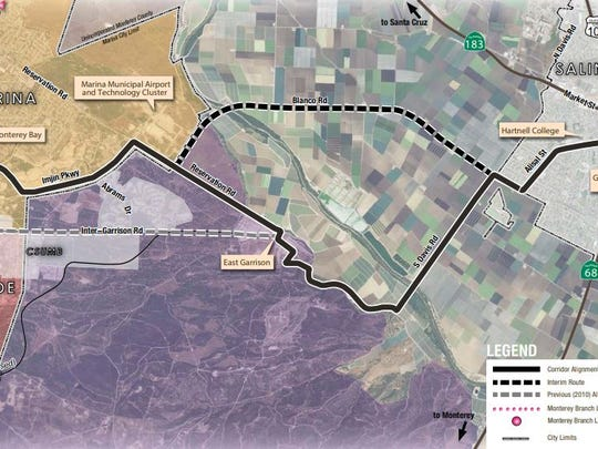 The Marina-Salinas Multimodal Corridor: Imjin Parkway Project has been awarded $19 million to improve the commute for Salinas and Marina residents.