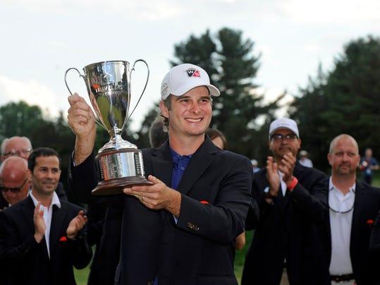 APTOPIX Travelers Championship Golf