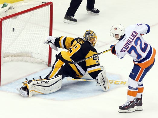 March 24: New York Islanders center Anthony Beauvillier