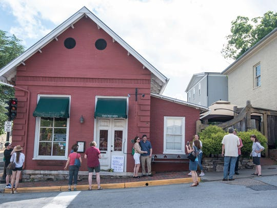 The Red Hen restaurant, Lexington, Va., June 23, 2018