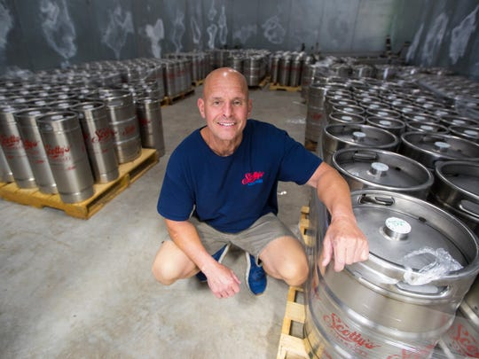 Scott Melick, owner of Scotty's Bierwerks in Cape Coral, opened his new brewery earlier this year and has been a home brewer since 1989.