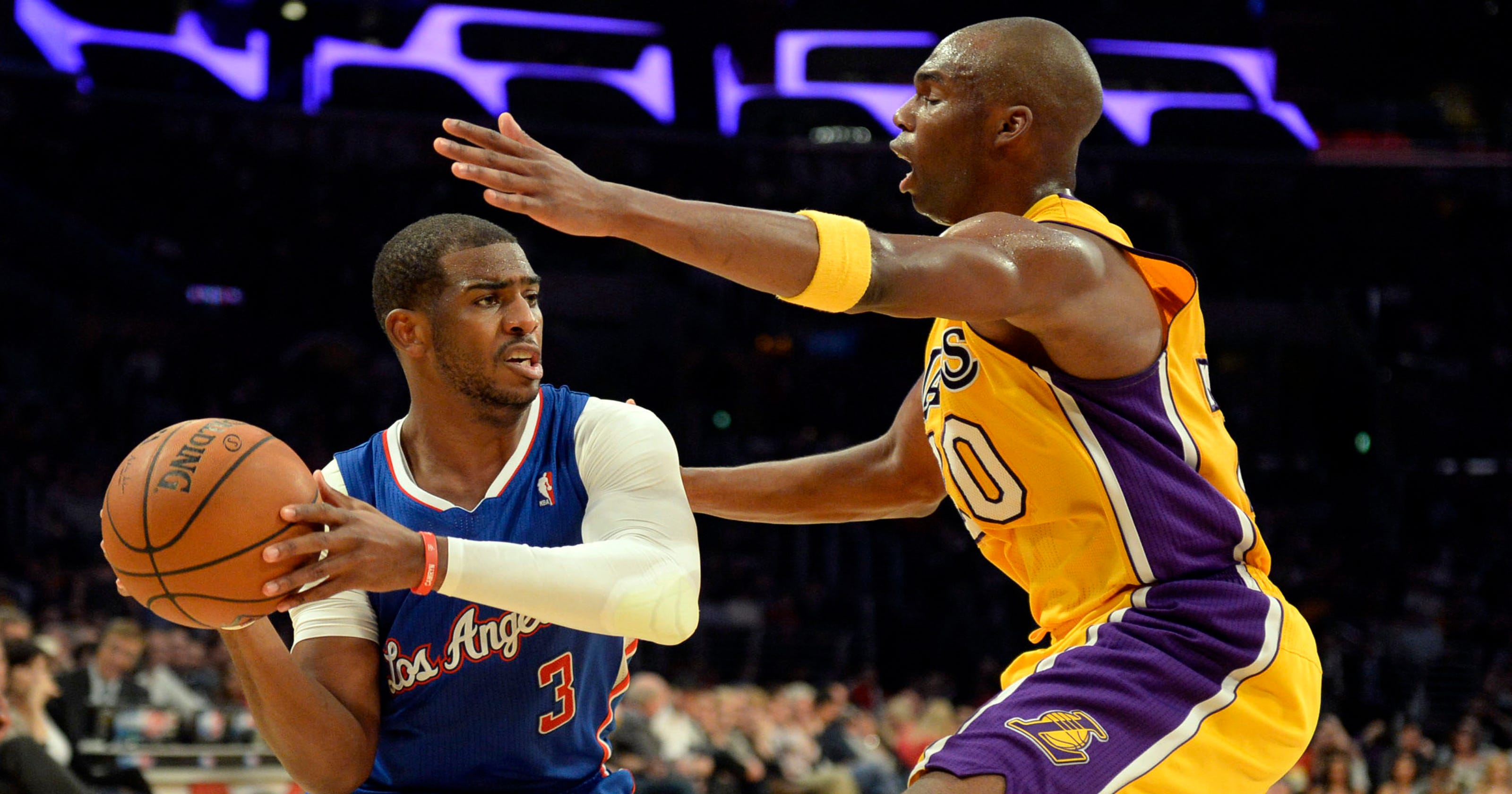 dda99cac3 Clippers hand Lakers worst loss in franchise history