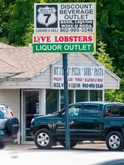 The Route 7 Liquor and Deli in Shelburne seen on Wednesday,