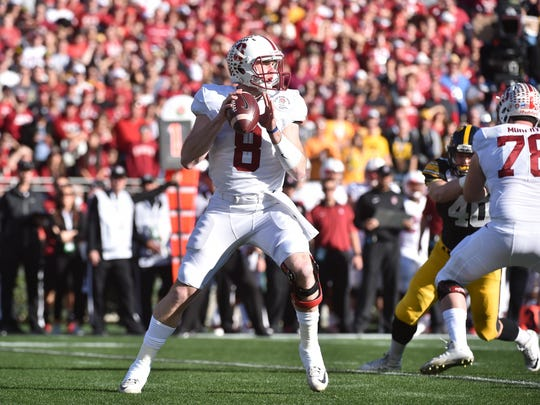 Stanford's Kevin Hogan won a school-record 35 games in his career.