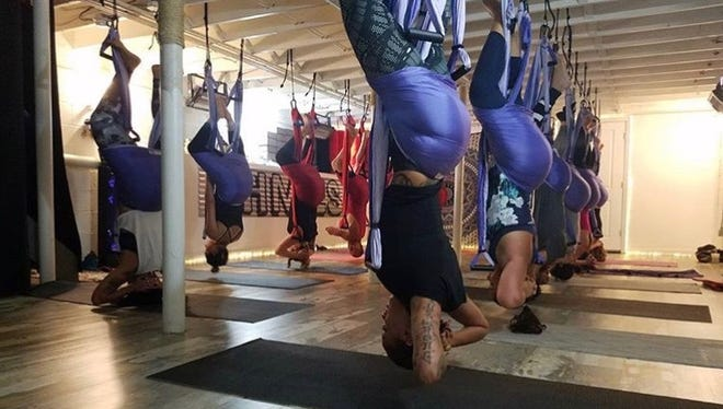 Ohmies offers yoga for all ages and experience levels.