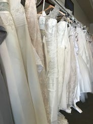 Racks holding more than 300 dresses will fill the ballroom