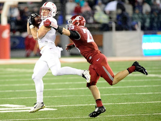 NCAA Football: Stanford at Washington State