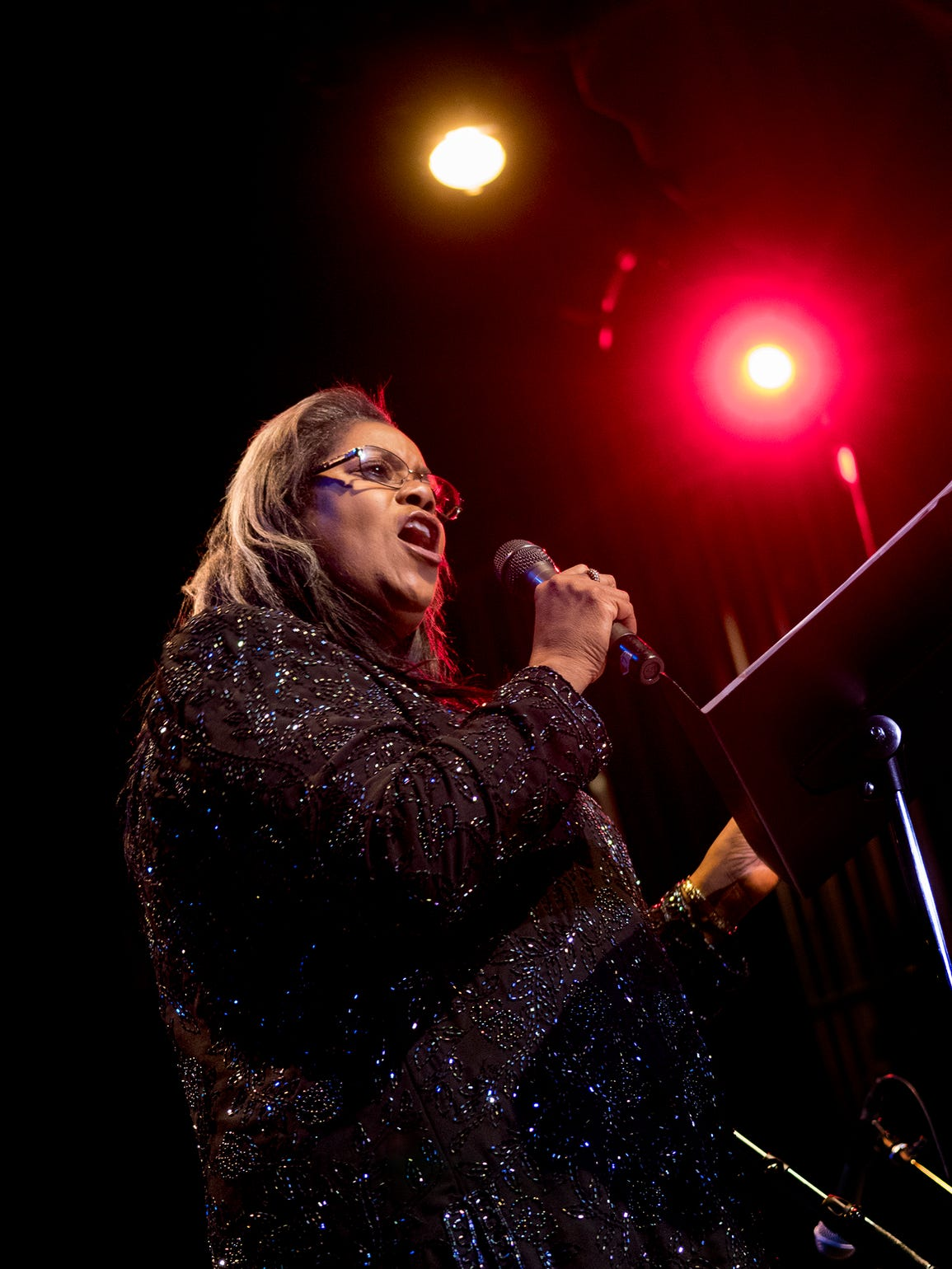 Cheryl Tomczuk, vocalist for Jazz Unlimited Big Band