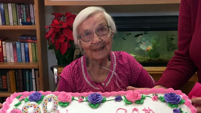 Doris Console celebrated her 90th birthday on Tuesday, Jan. 2, at the Mimbres Memorial Nursing Home with friends and staff.