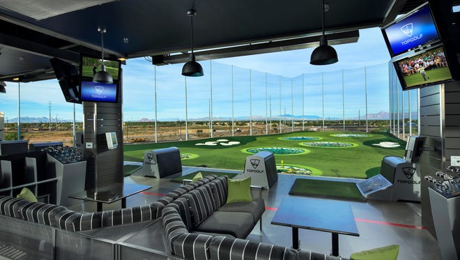 Golf-entertainment venue Topgolf plans to open at the northwest corner of Loop 101 and Bethany Home Road, just across the freeway from University of Phoenix Stadium, in 2018.