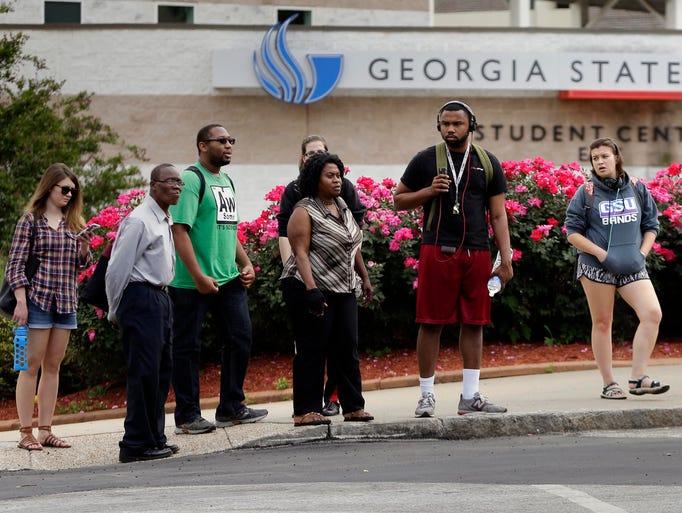 Georgia State University, an urban university in Atlanta,
