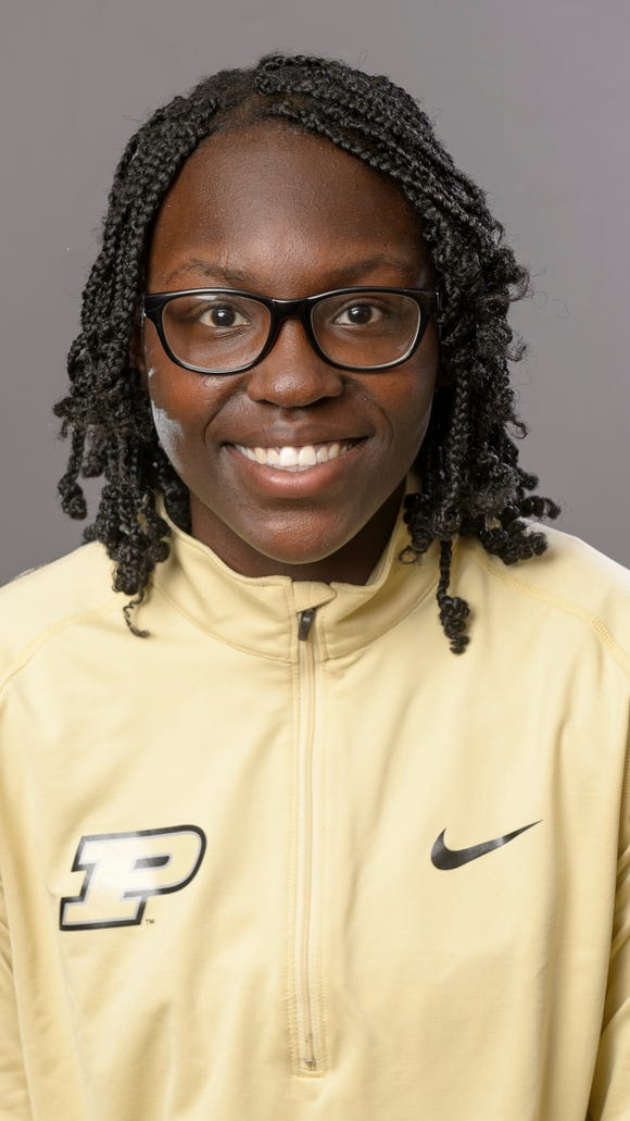 Purdue women's track sprinter Brionna Thomas.