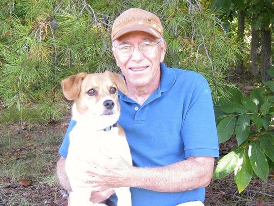 Jim Peck and his dog  Skip have been visiting natural