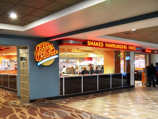 Johnny Rockets is located inside the Grand Sierra Resort and Casino.