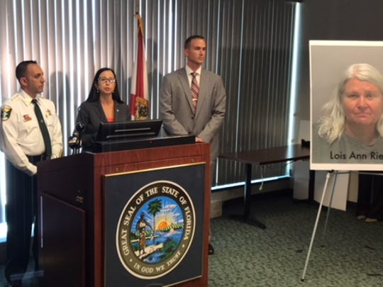 A first-degree murder indictment was filed Wednesday against Lois Riess for the Fort Myers Beach homicide of Pamela Hutchinson.