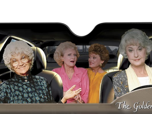 Golden Girls Winshield Retro TV AP_18320736933286