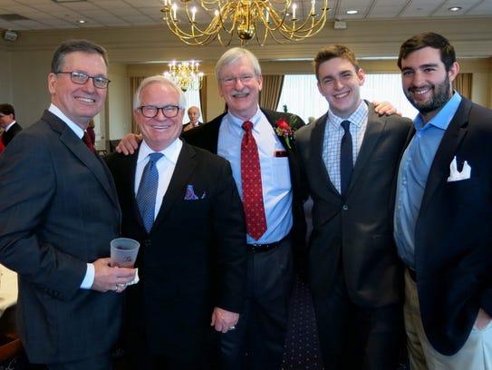 Dr. Ed Morgan, Dr. Larry Allen, Dr. Charles W. Armistead