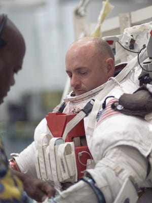 Astronaut Mark E. Kelly, who piloted the space shuttle, says continued space travel is sure to result in technological breakthroughs we can't yet imagine.